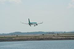 IMG_2520 (wmcgauran) Tags: boston airplane airport aircraft aviation boeing bos aerlingus 757 eastboston kbos eicjx
