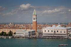 view venice (stijnkuilboer) Tags: tower dogen palace vaporetto water clouds san marco venetie venezia