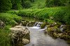 Gordale Beck. (Ian Emerson) Tags: trees water river rocks stream long exposure yorkshire cascade hoya ndx400