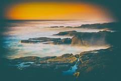 PA030678-Edit (jbrownell) Tags: clouds coastpacific haze longexposure mist northwest ocean oregon rocks sky sunset surf waves yachats