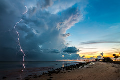 Causeway Storm at Sunset (James Boone) Tags: sunset summer sky storm beach june tampa spring nikon tampabay florida tokina d750 lightning fullframe fx storms causeway clearwater lightroom 2016 sr60 stateroad60 courtneycampbellcauseway jamesboone bentdavisbeach oldboone tokina1628 tokinaatx1628mmf28 nikond750 jamesboonephoto tokinaatx1628mmf28fx