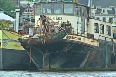 Amsterdam (frankieleon) Tags: travel sea water boat rust ship decay hanging ropes nautical hang seaworthy