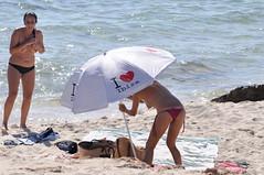 Sun gets down.. (sheen_kosh) Tags: beach thong topless formentera