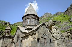 Geghard Monastery - Armenia (Agnieszka Eile) Tags: caucasus southcaucasus armenia geghard monastery church religion orthodox architecture