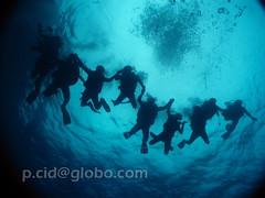Fernando de Noronha - Gruta da Sapata (Paulo Cid) Tags: life friends sea fish amigos nature canon mar underwater natureza diving peixe vida fernandodenoronha submarino submerso