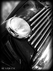 Black Collection (Julie & Frank) Tags: bridge bw white black noir voiture collection blanc phare 2012 ancienne
