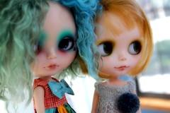 Happibug cuties together (*chacha*) Tags: sun cookie boulder blythe happibugcustom