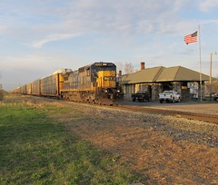 NS 31M w/ CSX 7626 (3/27/2012) (Cool~Yooper~Dude) Tags: southbound norfolksouthernrailroad conraildetroitline ns31m csxt7626