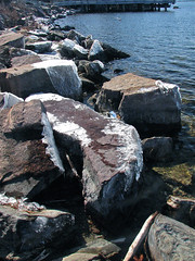 glazed • shoreline (origamidon) Tags: usa burlington vermont waterfront shoreline vt lakechamplain 05401 greenmountainstate chittendencounty origamidon donshall 6thgreatlake burlingtonvermontusa glazed•shoreline glazedrocks