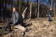 sunbathing (malinowy) Tags: polska poland polen pologne polonia polsko d lodz dzkie lodzkie grotniki ustronie las forest wood wald spring wiosna nikon d70s nikkor 1870 malinowy malinowynet