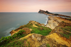 Outpost (night86mare) Tags: cliff seascape landscape liu long exposure taiwan k5 yeh   10mm geopark