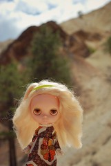 Farrah at Big Rock Candy Mountain