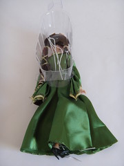 Queen Elinor Brave Doll Set - Unboxing - Off Backing - Elinor Lying Down Face Down (drj1828) Tags: set store doll disney queen pixar brave unboxing elinor