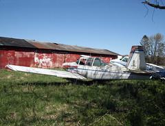 Varga 2150A Kachina (N8274J) (dlberek) Tags: scrapyard boneyard penningtonnj n75 twinpineairport airportorphan n8274j varga2150kachina vargakachina varga2150akachina derelictaircraftabandonedaircraft