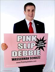 Pink Slip Debbie Wasserman Schultz