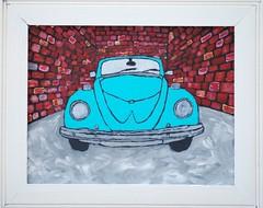 (4heidi) Tags: car vw bug painting heidi beatle paintsomething