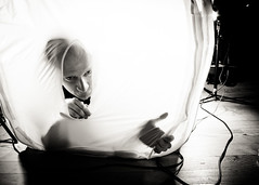 Birth of all photographer (Demipoulpe) Tags: bw studio friend photographer birth portraiture tyrell lightroom