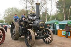 1917 John Fowler & Co. 8nhp R3 Steam Road Locomotive w/n:14888 [ HO 6420 ] 'Kingfisher' (DC-7C) Tags: road heritage vintage john leicestershire transport traction leeds engine railway loco steam kingfisher locomotive woodhouse r3 fowler 1917 quorn greatcentral gcr 14888 ho6420 8nhp roadrailsteam img30962