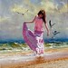 RB1 Beach Girl        (24 x 30)