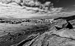 greenland's magic light (diamir8000) Tags: travel light bw clouds canon landscape geotagged rocks arctic greenland iceberg ilulissat icefjord westerngreenland