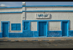 Art Deco architecture in Sidi Ifni, Morocco (jitenshaman) Tags: africa travel building architecture design town style spanish morocco era destination artdeco deco sidiifni moroccan worldlocations