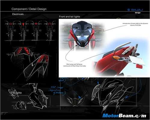 8. Pulsar 200NS - Detailing in Design - III