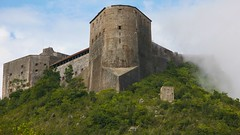 The Citadelle Laferrire, Haiti (Alex E. Proimos) Tags: cloud mist mountain haiti fight support top country international henry aid christophe survival struggle developing citadelle haitien laferrire thecitadellelaferrire
