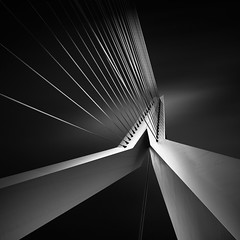 Shape Of Light XIII (Joel Tjintjelaar) Tags: blackandwhite architecture rotterdam bwphotography blackandwhitephotography daytimelongexposure blackwhitephotos bwnd110filter joeltjintjelaar 10stopsndfilter fineartarchitecturalphotography fineartarchitecture internationalawardwinningphotographer architecturallongexposurephotography blackandwhitefineartarchitecturalphotography