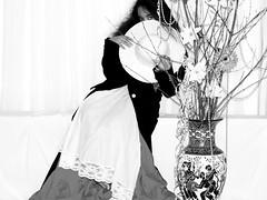 Black &White Studio Portrait (Janice Arnott) Tags: portrait blackandwhite girl child blackandwhiteportrait