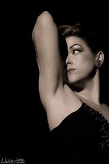 Esther Alaiz (Ull_Viu) Tags: barcelona show girl model catalunya tease cabaret burlesque noia vedete varietes teasecheese