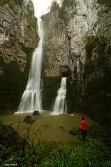 Chris et les cascades du Creux Billard - Nans sous sainte anne (francky25) Tags: chris les anne sainte du cascades billard et franchecomté sous nans doubs creux