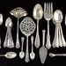 2043. Assorted Sterling Silver Flatware