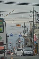 tsu1796 (tanayan) Tags: road street railroad station japan town alley nikon cityscape crossing  tsu mie j1 kintetsu   tsushinmachi