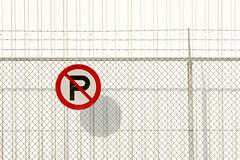 No parking II (on Explore) (Jan van der Wolf) Tags: shadow red white lines sign fence noparking minimal redrule minimalism simply schaduw trafficsign wit minimalistic hek lijnen verkeersbord hekwerk lijnenspel minimalisme simpel parkeerverbod interplayoflines map155184vve