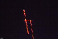Drone light painting (Piaklim) Tags: longexposure light lightpainting night drone startrail phantom4 dji