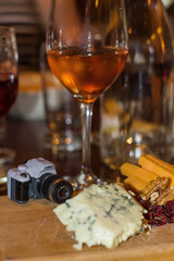 05/27/2016: Vollenda Wants Cheese to Go with that Wine (Painting with Dawn's Light) Tags: rose cheese canon cafe wine kodak drinking winery cameras alcohol winetasting photographicart bluecheese girlsnightout pictureinpicture photooftheday kwanon 2016 glassofwine vollenda 365dayphotochallenge 366dayphotoproject photographerhumor