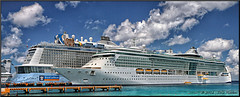 Cozumel, Mexico (2 Million + views!!! Thank you!!!) Tags: canon geotagged eos cruiseship cozumel royalcaribbean cozumelmexico brillianceoftheseas 70d efex cruiseport 18135mmstm anthemoftheseas pspx8 paintshopprox8