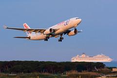Air Europa - Airbus A330 - EC-LQO (j.borras) Tags: barcelona airplane europa air bcn airbus takeoff a330 spotting departing rwy25l lebl
