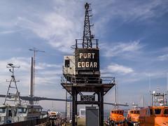 Port Edgar, South Queensferry (mister_wolf) Tags: bridge marina scotland unitedkingdom bridges firthofforth queensferry southqueensferry westlothian portedgar queensferrycrossing