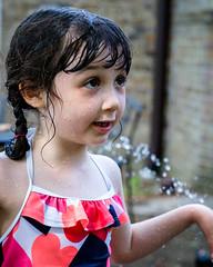 DSCF0712 (djandzoya) Tags: water backyard play candid sprinkler fujifilm provia fenya
