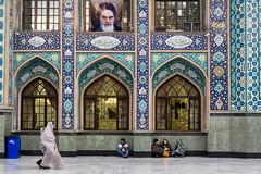 Bazzar Mosque (Martin Tsvetkov) Tags: city travel panorama snow tower architecture landscape photography view iran prayer palace tehran milad shah azadi golestan