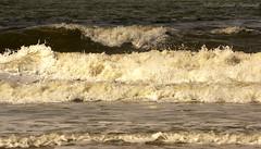 Belgian coast (Natali Antonovich) Tags: sea nature water landscape seaside waves belgium belgique belgie horizon northsea oostende seashore seasideresort belgiancoast seaboard