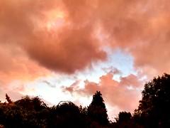 Sunset storm (Boxley) Tags: sunset sky cloud london thunderstorm eltham