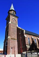 St. Michel, Frethun (grassrootsgroundswell) Tags: france church churchtower eglise pasdecalais frethun