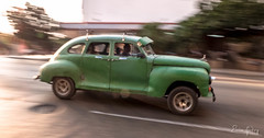Old Car - imposing - Havana/Cuba (Enio Godoy - www.picturecumlux.com.br) Tags: street leica travel streetart car speed havana cuba frias journey viagem carro vehicle oldcar panning vacations velocidade carroantigo veculo niksoftware viveza2 leicadlux6