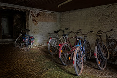 The bicycle cellar (Dreamdancer_77) Tags: old school abandoned lost big alt decay medical medizin dilapidated gros schule ruined collapsed physiotherapy urbex physiotherapie verfall lostplaces verwaltung lostplace medizinisch