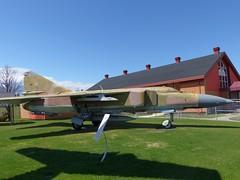 (4857) MiG-23 Bagotville (ZD703) Tags: mig mikoyan mig23 bagotville 4857 czechairforce airdefencemuseum canada2016 bagotvilleairdefencemuseum muséedeladéfenseaérienne