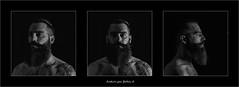 triptyque Ludovic (ju.lepine) Tags: triptyque barbe barbu bebar