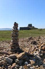 holy island (Julaquinte) Tags: northumberland holyisland lindisfarne rockpiles stonestacks