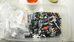 Mini-Fig Stuff ?! (DJ Quest) Tags: table lego fig mini stuff minifig sort sorting